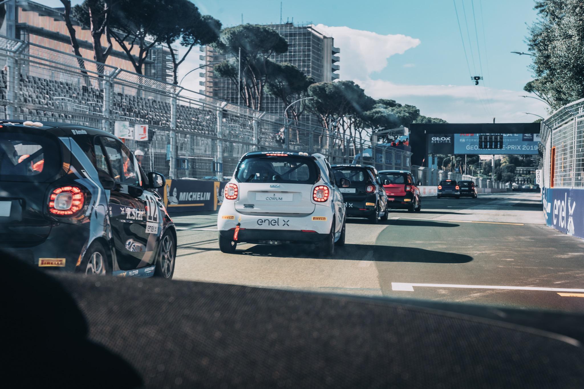 Rome Parade - Formula E