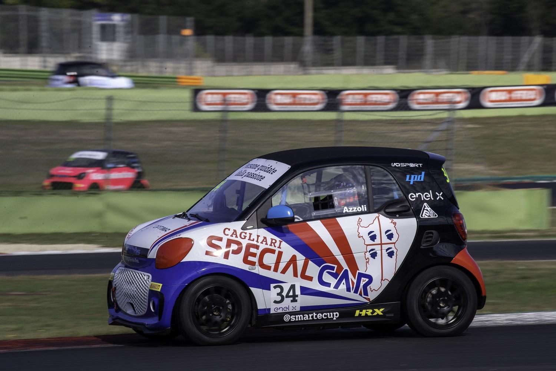 azzoli special car smart e-cup smartecup 2021