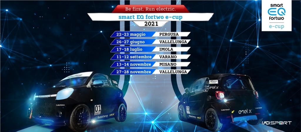 nuovo calendario smart e-cup 2021 smartecup